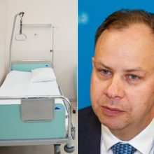A. Veryga: politinės valios ligoninių pertvarkai nėra