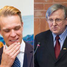 G. Landsbergio nenustebino R. J. Dagio sprendimas kurti naują partiją