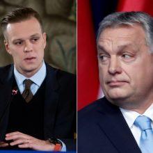 G. Landsbergis ragina šalinti V. Orbano partiją iš ES dešiniųjų organizacijos