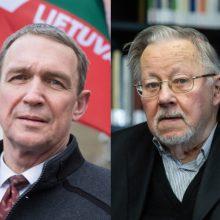 """V. Landsbergis: A. Juozaitis naujos """"tvarkiečių"""" partijos neišgelbės"""