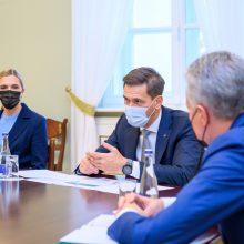 G. Nausėda su ministrais aptarė energetikos kainas ir nelegalios migracijos klausimus