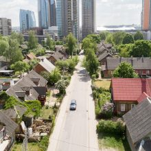 Bus rekonstruojama sostinės Giedraičių gatvė