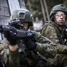 """Baltarusijos ginklų kontrolės inspektoriai tikrins brigadą """"Žemaitija"""""""