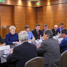 Baltijos šalys ir JAV stiprins bendradarbiavimą energetikoje