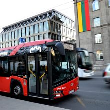 Liepos 6-ąją Vilniuje viešasis transportas veš nemokamai