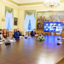 Prezidentas ragina Alytaus regioną siekti žaliosios transformacijos
