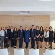 D. Grybauskaitė Romoje atidarė naują Lietuvos ambasadą