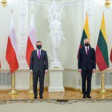 G. Nausėda ragina ES įvesti sankcijas Baltarusijos režimą remiančioms įmonėms