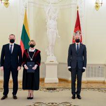 Prezidentas priėmė penkių naujų teisėjų priesaikas