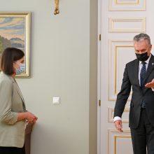Prezidentūrai užkliuvo kandidatės į finansų ministrus reputacija