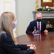 Prezidentūra įžvelgia A. Bilotaitės žinių stoką, bet mano, kad tai ištaisoma