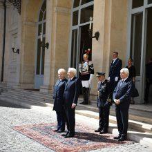 Lietuvą su Italija sieja bendri europiniai iššūkiai
