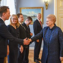 D. Grybauskaitė ragina Latviją nedelsti dėl elektros tinklų sinchronizacijos