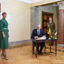 G. Nausėda Estijoje pasiūlė atkurti Baltijos šalių prezidentų susitikimą