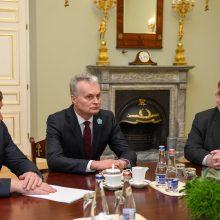 G. Nausėda išreiškė susirūpinimą dėl Lietuvos karių Irake: kol kas jų neatšauks