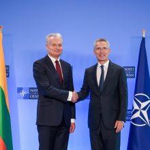 G. Nausėda: NATO priemonių ginti Baltijos šalims nepakanka