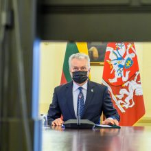G. Nausėda ragina aktyviau rūpintis neįgaliųjų teisėmis, spartinti skiepijimą
