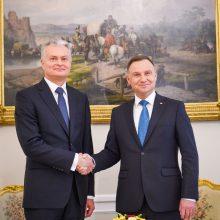 G. Nausėda kviečia Lenkijos banką į Lietuvą