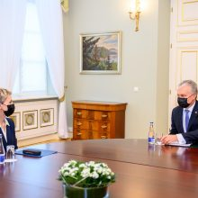 G. Nausėda: N. Grunskienė padės sustiprinti prokuratūros darbą