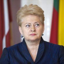 Lenkų spauda: Lenkija neremia D. Grybauskaitės ES postų dalybose