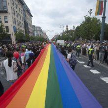 Vilniuje rengiamos LGBT eitynės už lygybę (atnaujinta)