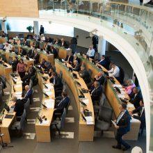 Baigiasi terminas pateikti parašus pretendentams į Seimą