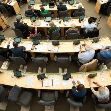 Bandymas griežtinti Seimo narių posėdžių lankomumą patyrė fiasko