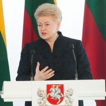 Pasirodo knyga apie kadenciją baigiančią prezidentę D. Grybauskaitę