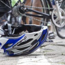 Policininkas ne tarnybos metu Vilniuje partrenkė dviratininką