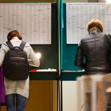 Vyriausybė pritarė balsavimo pakeitimams per rinkimus