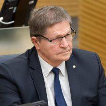 Seimas svarstys E. Jovaišos įregistruotą nutarimo projektą