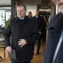 Premjeras S. Skvernelis aplankys Skuodą, Kretingą ir Gargždus