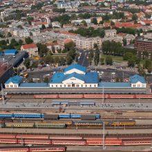 Planuojama modernizuoti Vilniaus stoties teritoriją: ruošiamasi konkursui