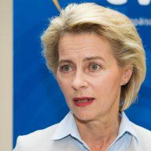U. von der Leyen ragina britus nominuoti savo eurokomisarą