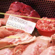 Lietuvos mėsos perdirbėjai fiksuoja kiaulienos brangimą