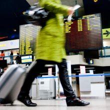 Žvalgybai siūloma leisti realiuoju laiku gauti  keleivių skrydžių duomenis