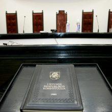 Konstitucinis Teismas pradeda nagrinėti pirmąjį individualų skundą