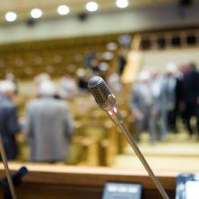 11 buvusių parlamentarų brenda į tą pačią upę – vėl į Seimą