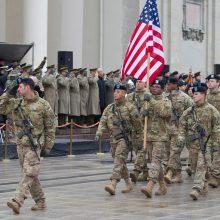 Lietuvoje lankosi JAV Pensilvanijos nacionalinės gvardijos vadas