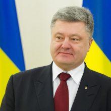 P. Porošenka pakeitė karinės operacijos Rytų Ukrainoje vadą