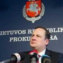 Generalinis prokuroras Seime neigė pavaldinių žodžius žiniasklaidai