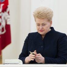 Knygą apie D. Grybauskaitę pristatęs T. Janeliūnas prisiminė intriguojančią frazę