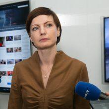 LRT vadovė: politinės institucijos neturi kištis į visuomeninio transliuotojo veiklą