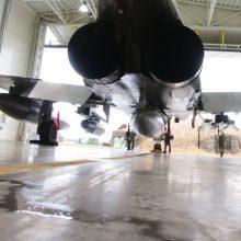NATO naikintuvai per savaitę triskart kilo lydėti Rusijos lėktuvų