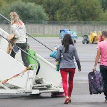 Penktadienį – pirmasis skrydis iš Vilniaus į Palangą