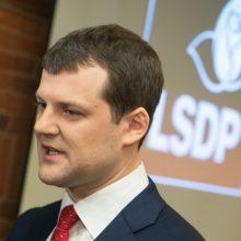 Socialdemokratai kol kas negauna pusės milijono eurų dotacijos