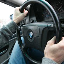 BMW leistiną greitį viršijo 95 kilometrais per valandą