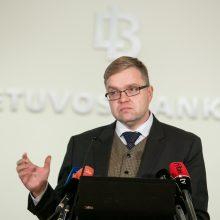 Lietuvos bankas: svarbiausias prioritetas – stiprinti kapitalą