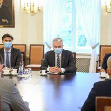 Prezidentūra: vykdant koronaviruso pirkimus trūko viešumo ir skaidrumo
