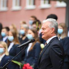 Prezidentas rengia posėdį dėl švietimo kokybės per pandemiją